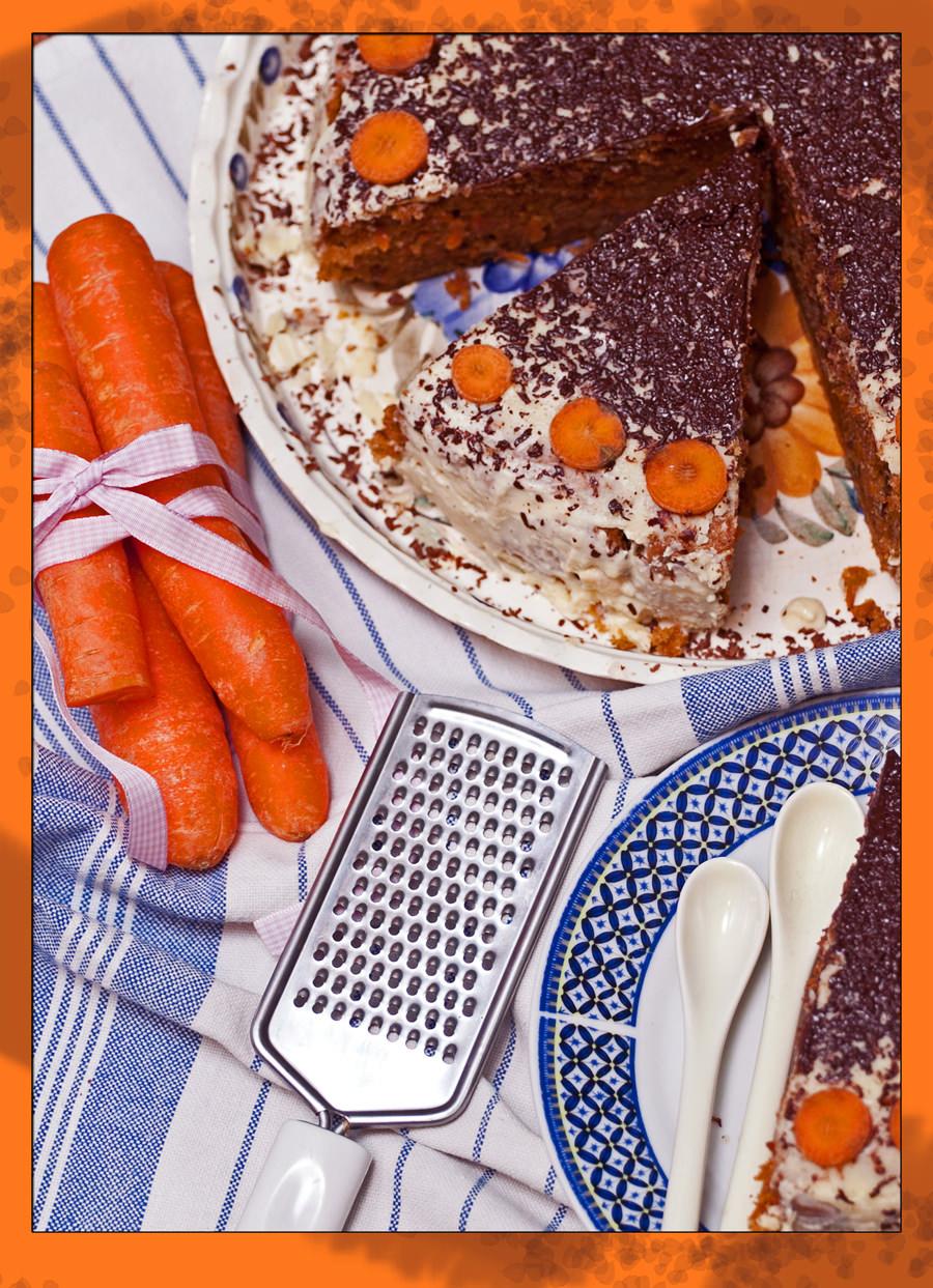 marchewka, tarka, ciasto
