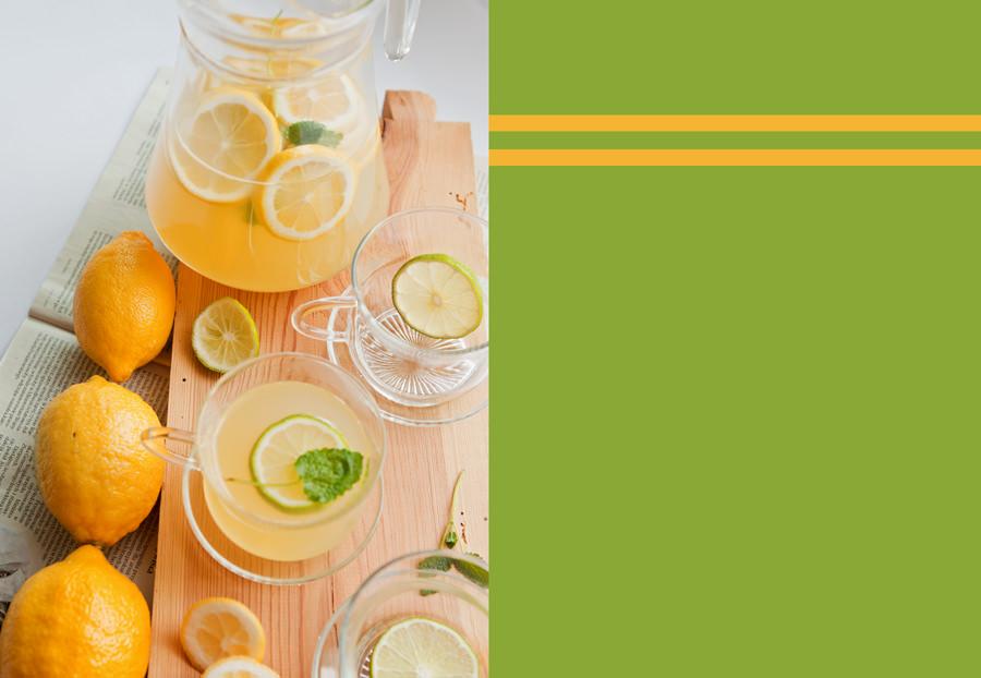 zdjęcia kulinarne lemoniada