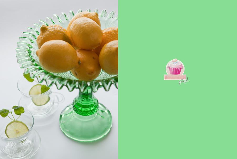 zdjęcie patera z cytrynami