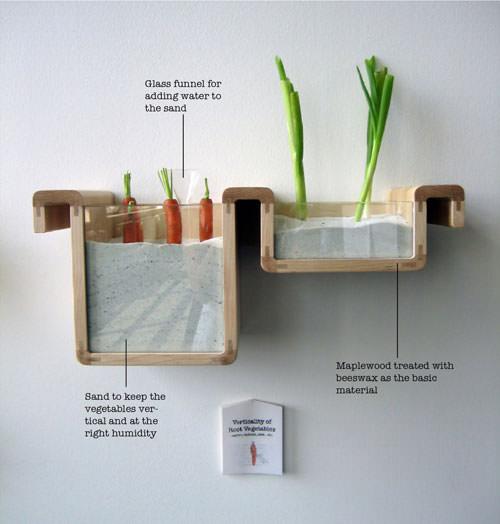 fotografia półki na marchewkę