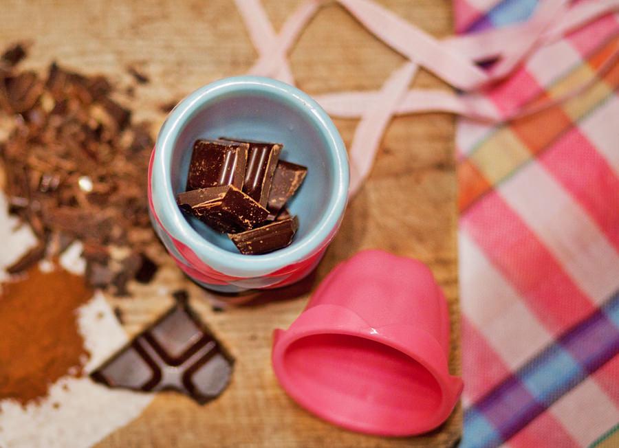 muffiny czekoladowe, fotografia kulinarna