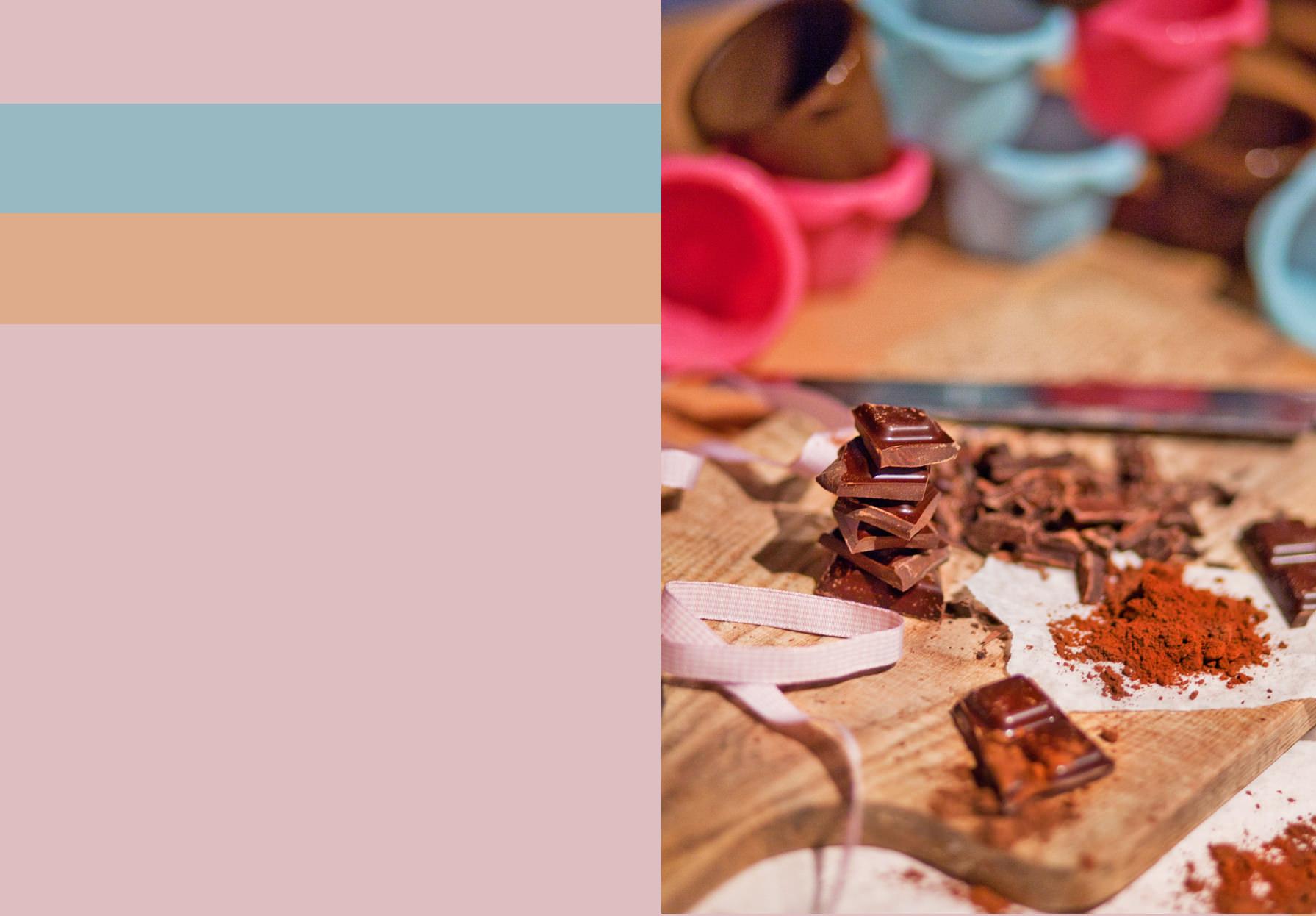 zdjęcie, składniki na ciasto czekoladowe