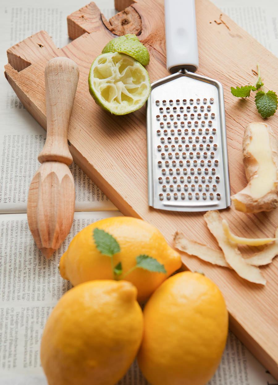 fotografia kulinarna składniki na napój