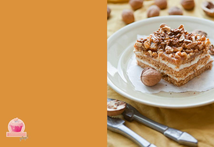 fotografia jedzenia, snickers ciasto