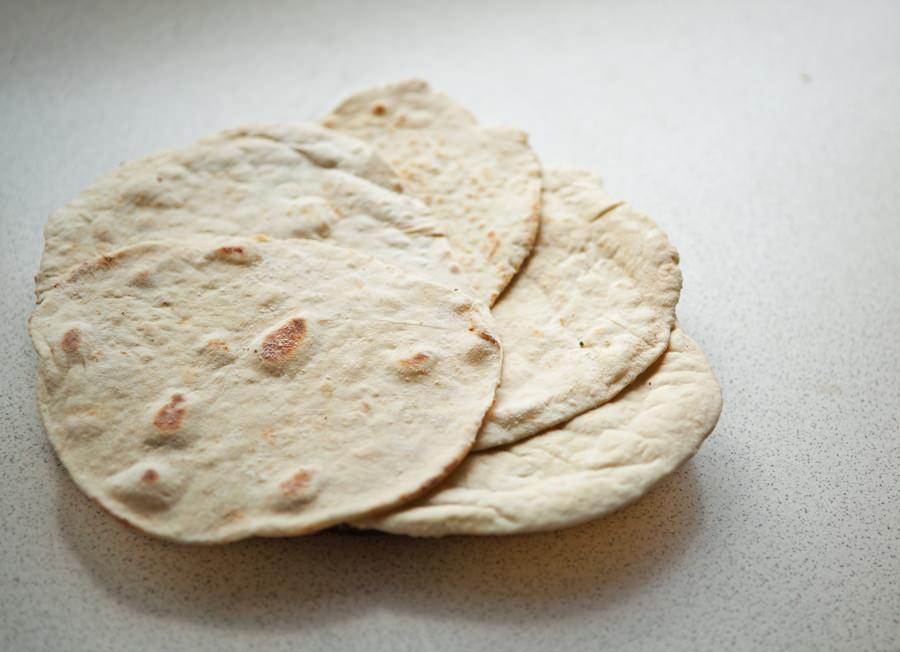 fotografia pszenna tortilla
