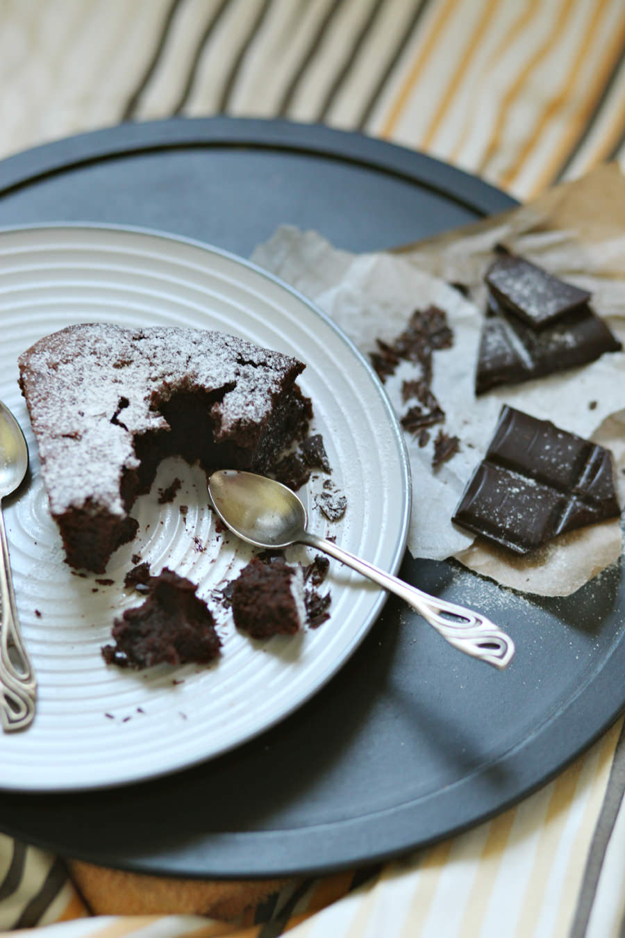 zdjęcia ciasta brownie