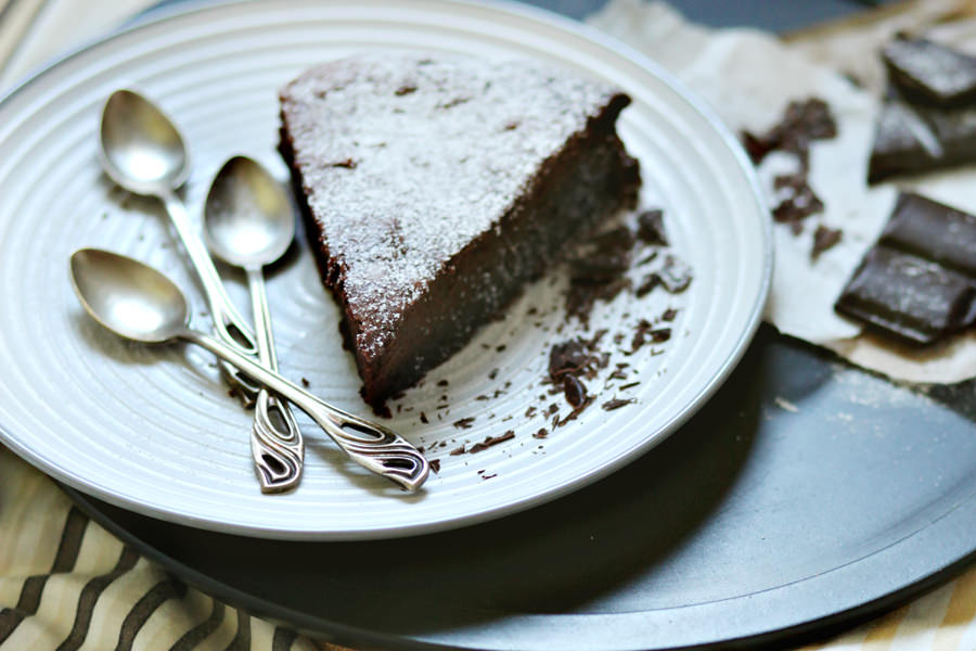 deser ciasto czekoladowe