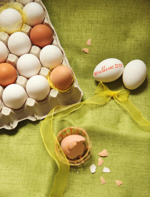 zdjęcie jajek wielkanocnych