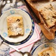 Kruche ciasto z rabarbarem pod kruszonką