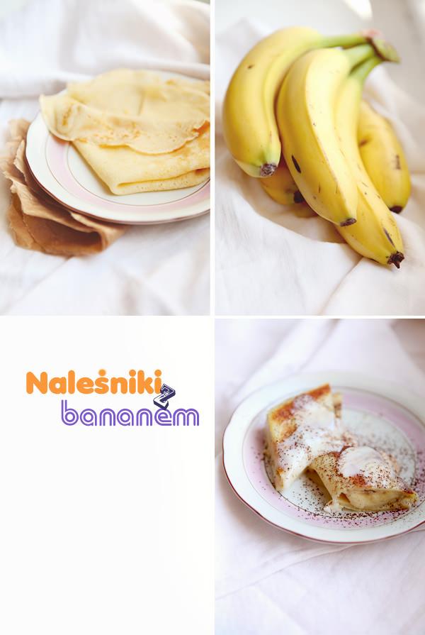 fotografia kulinarna jak zrobić naleśniki z bananami