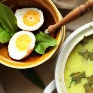Zupa szczawiowa – przepis mojej mamy
