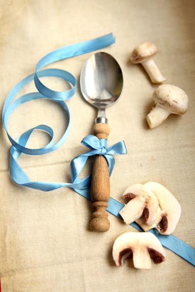 przepis na zupę pieczarkową fotografia kulinarna