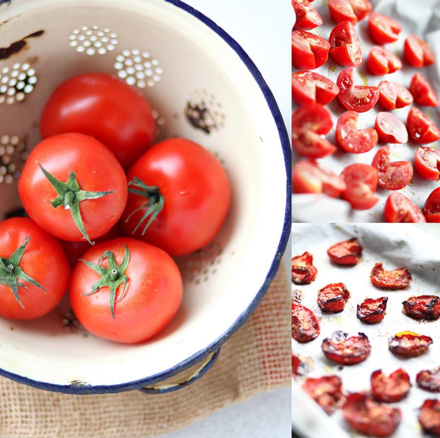 zdjęcie jak zrobić suszone pomidory