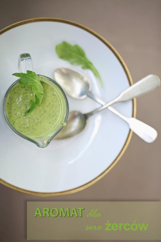 zdjęcie kulinarne Gorgonzola w pesto