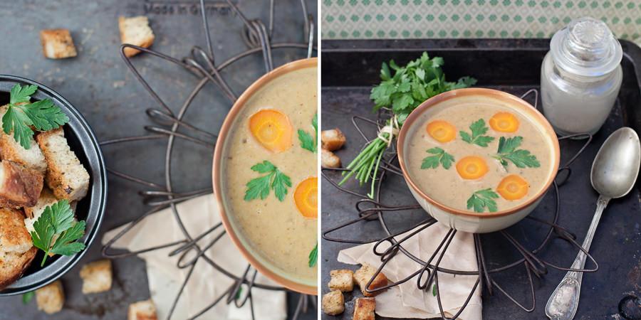 zupa grzybowa kremowa zdjęcia
