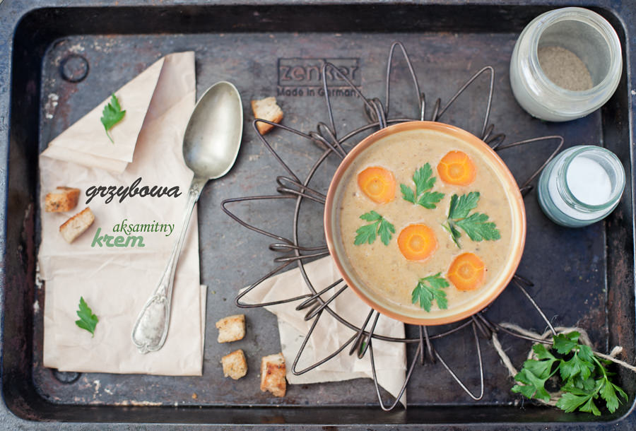 zupa grzybowa zdjęcia