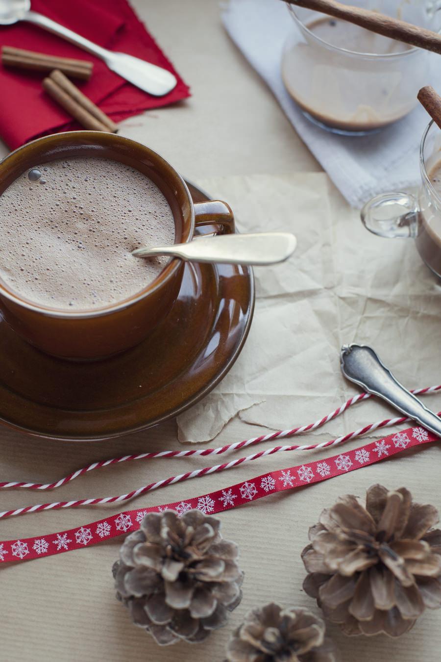 hiszpańska gorąca czekolada zdjęcie