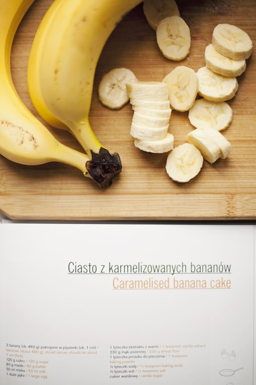 ciasto bananowe Whita Plate blog