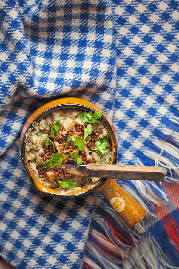 jak zrobić wegetariański smalec