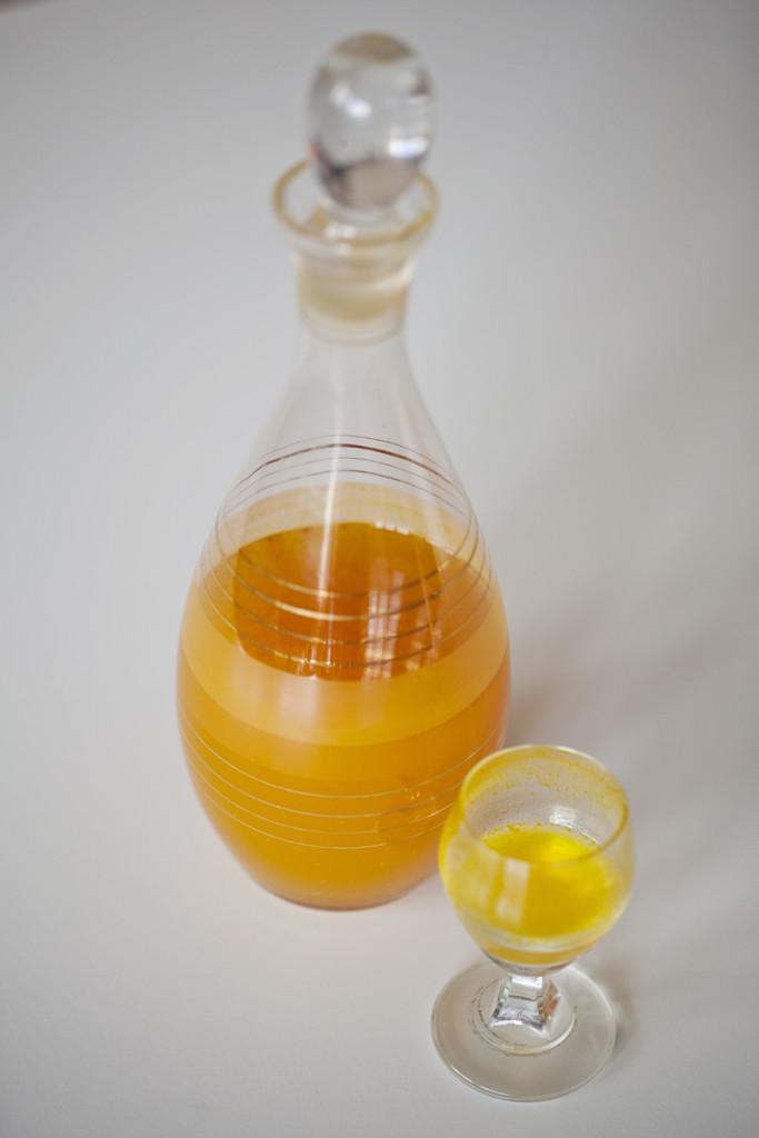 Ziołowo pomarańczowa nalewka benedyktyńska - degustacja