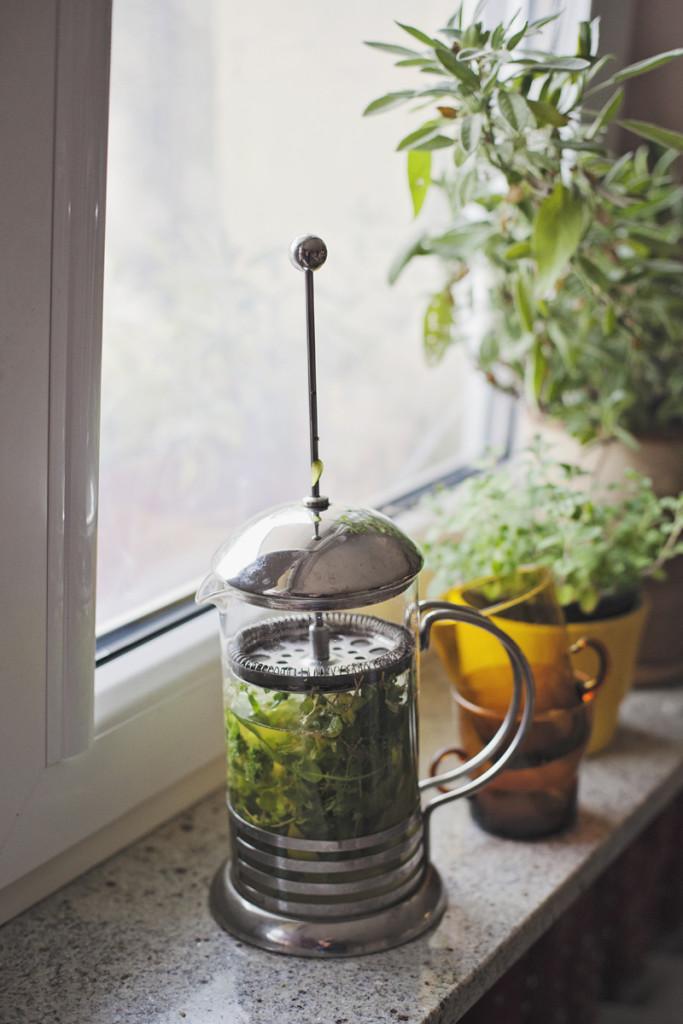 Aromatyzowana oliwa z oliwek i pierwsze mrozy