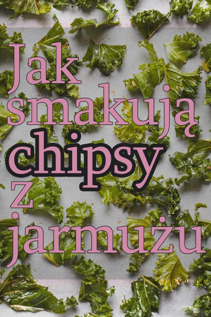 Chipsy z jarmużu
