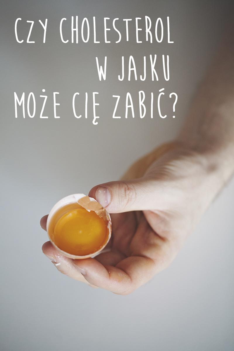 cholesterol w jajkach