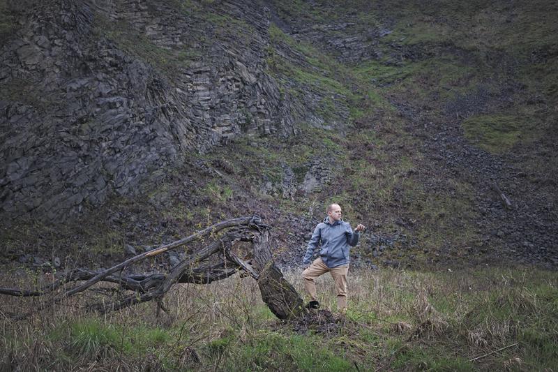 polana pod szczytem Wilkołak