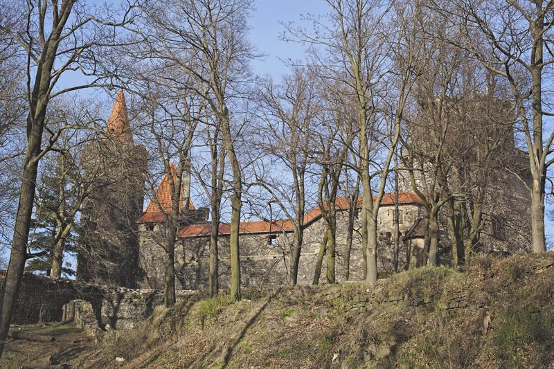 zamek grodziec zdjęcie zamku