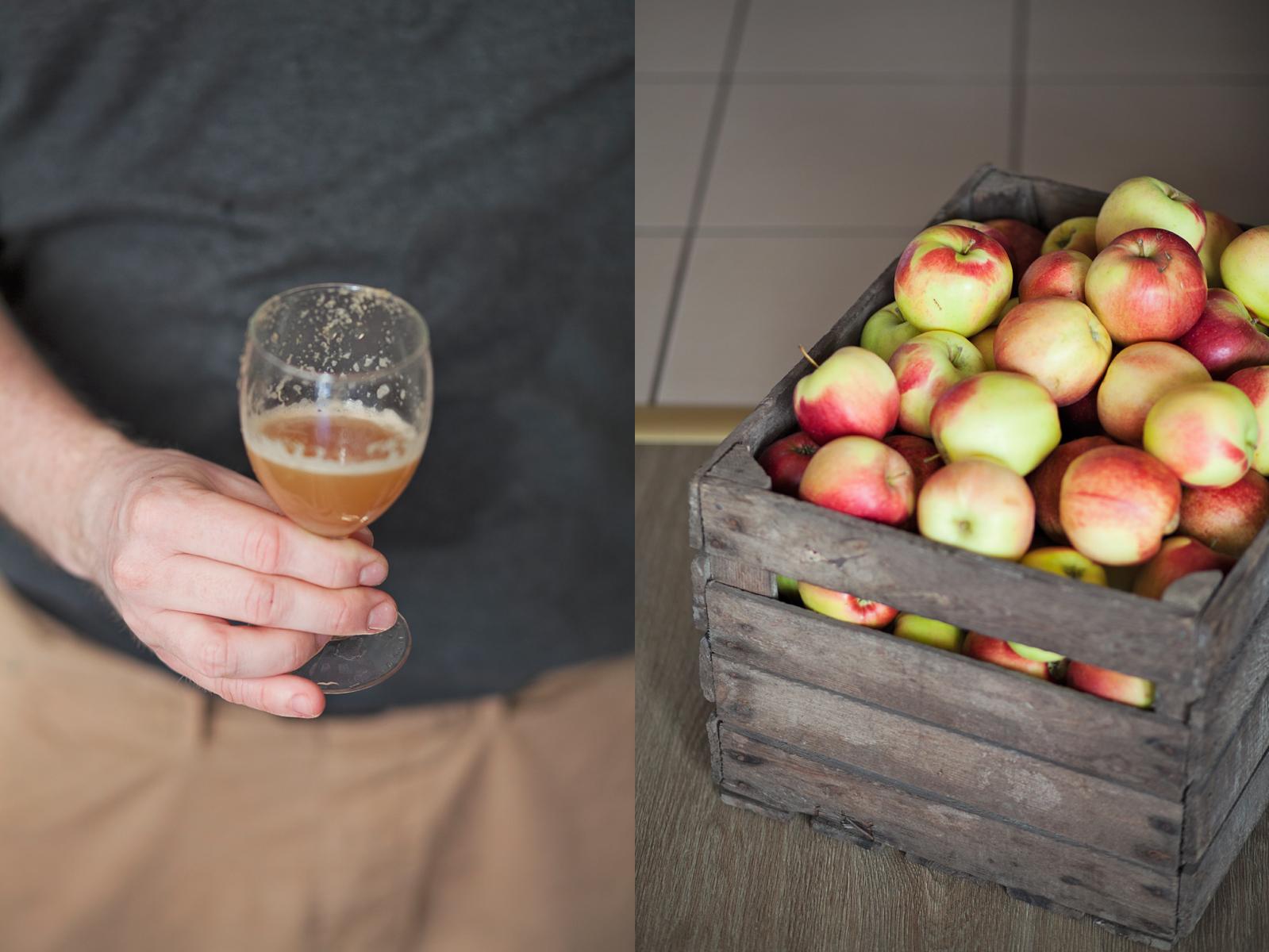domowy sok jabłkowy