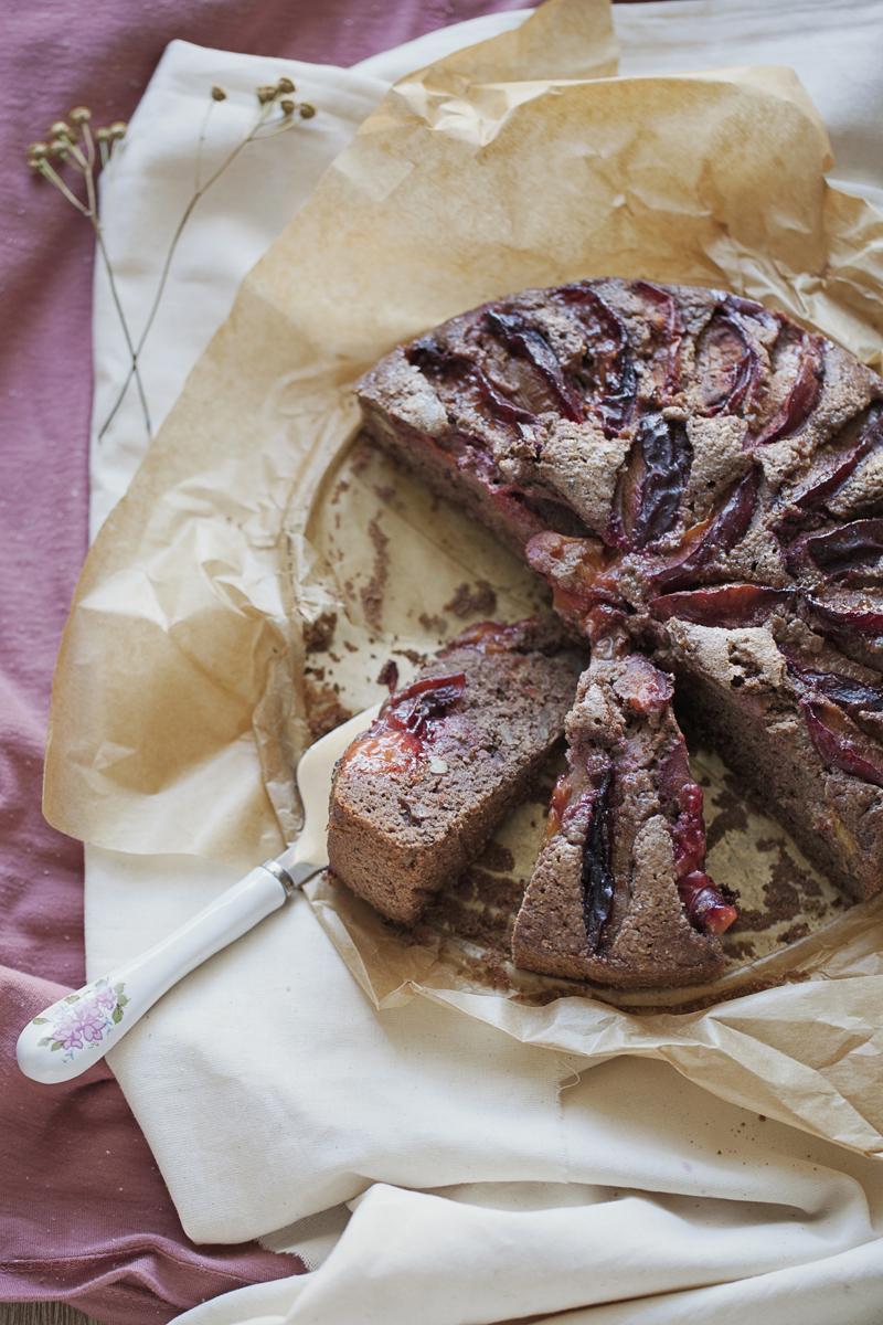 ciasto z mąki gryczanej
