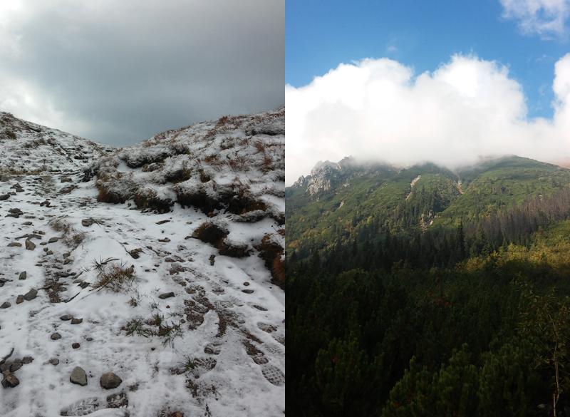 zmienna pogoda w tatrach